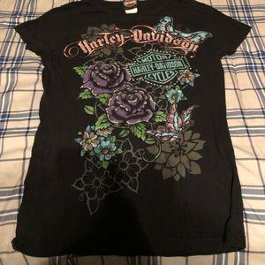 Harley Davidson female tshirt